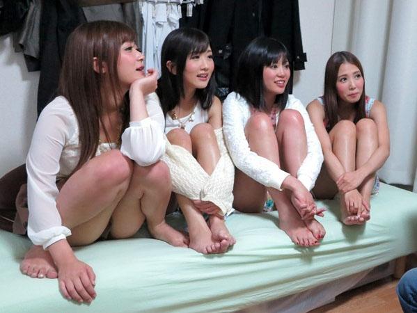 mird00124jp-9 <友田彩也香・ファン訪問>美人AV女優4人が素人男性の自宅を訪問生ハメ本番。3P・騎馬位・フェラ。